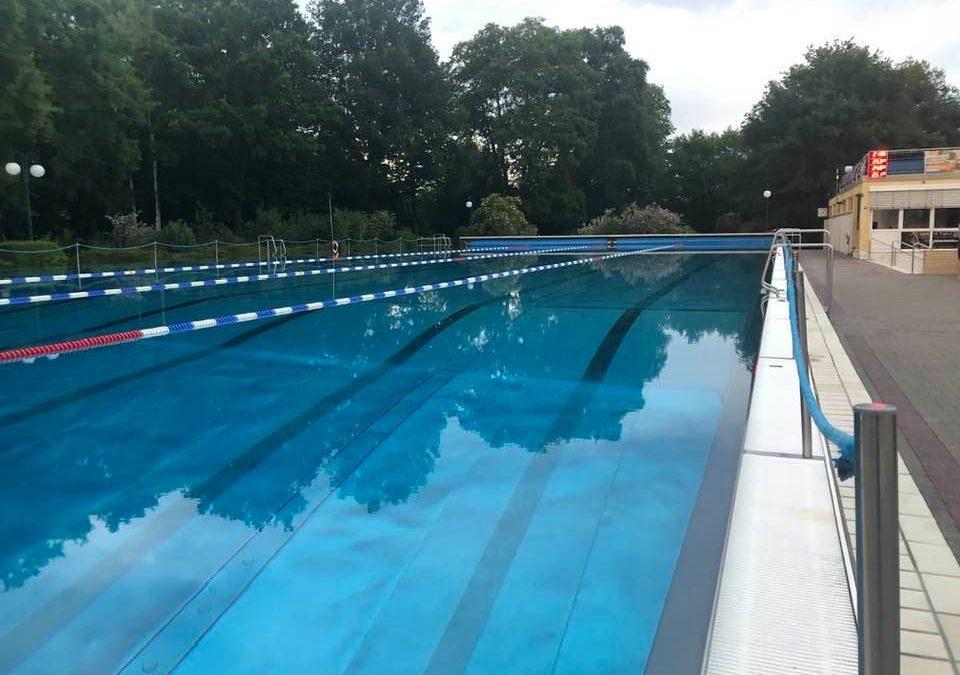 Schwimmtraining wieder möglich!!