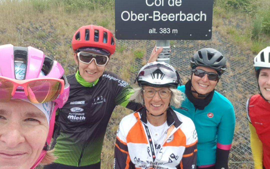 Fahrradtraining mit Manu – Team MöWathlon war auch dabei!