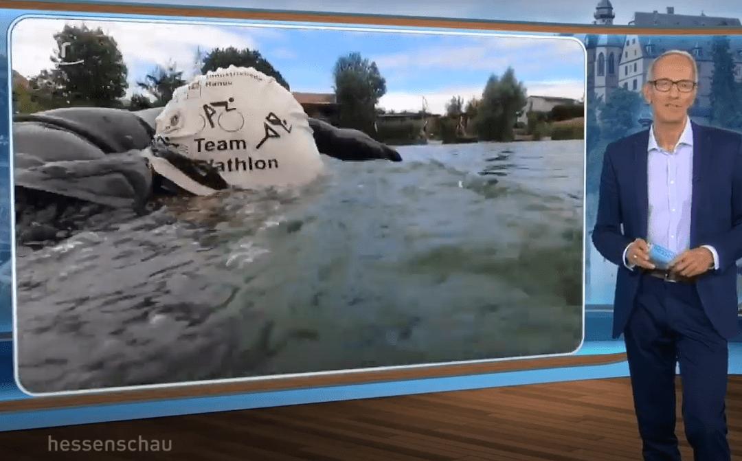 Ultratriathlon in Hessen – 200 km Schwimmen mit der Team MöWathlon Badekappe