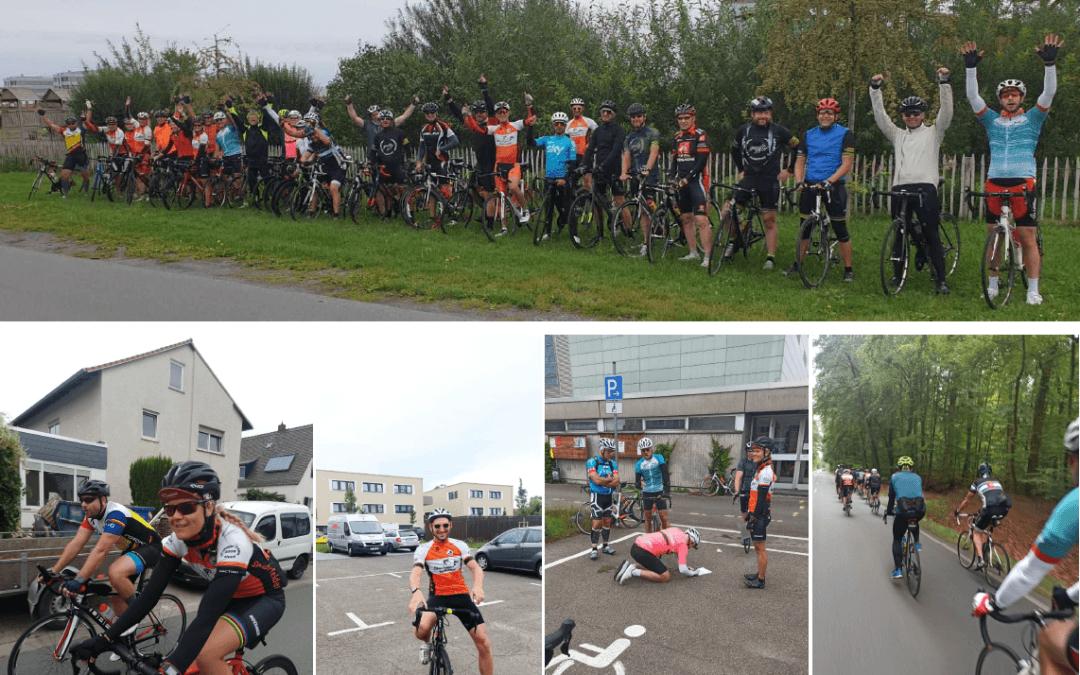 Ausfahrt zum Otzberg – 3000 km für`s Stadtradeln!