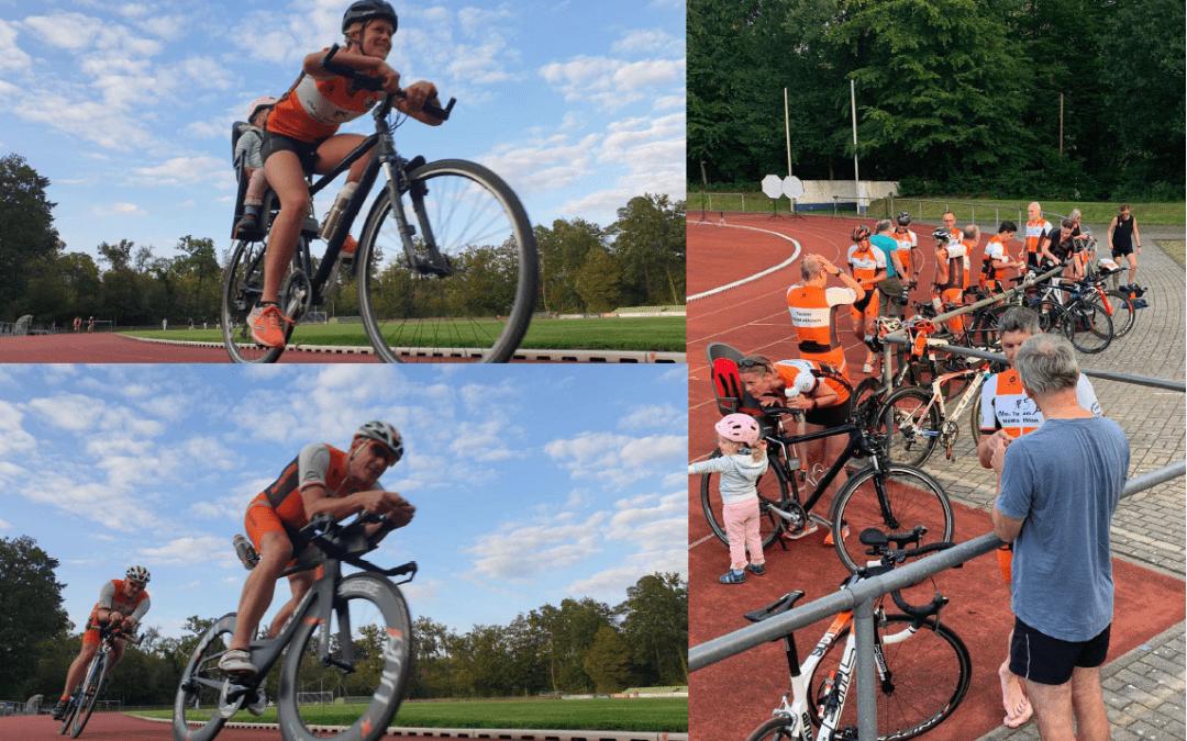Team MöWathlon – Fotoshooting im Waldstadion