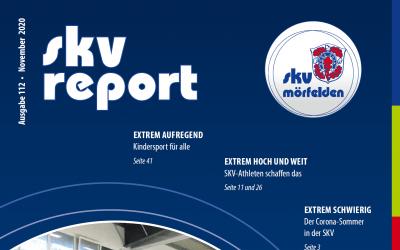 Der SKV Report ist erschienen und die News über das Team MöWathlon findet ihr auf Seite 10, 11 und 31