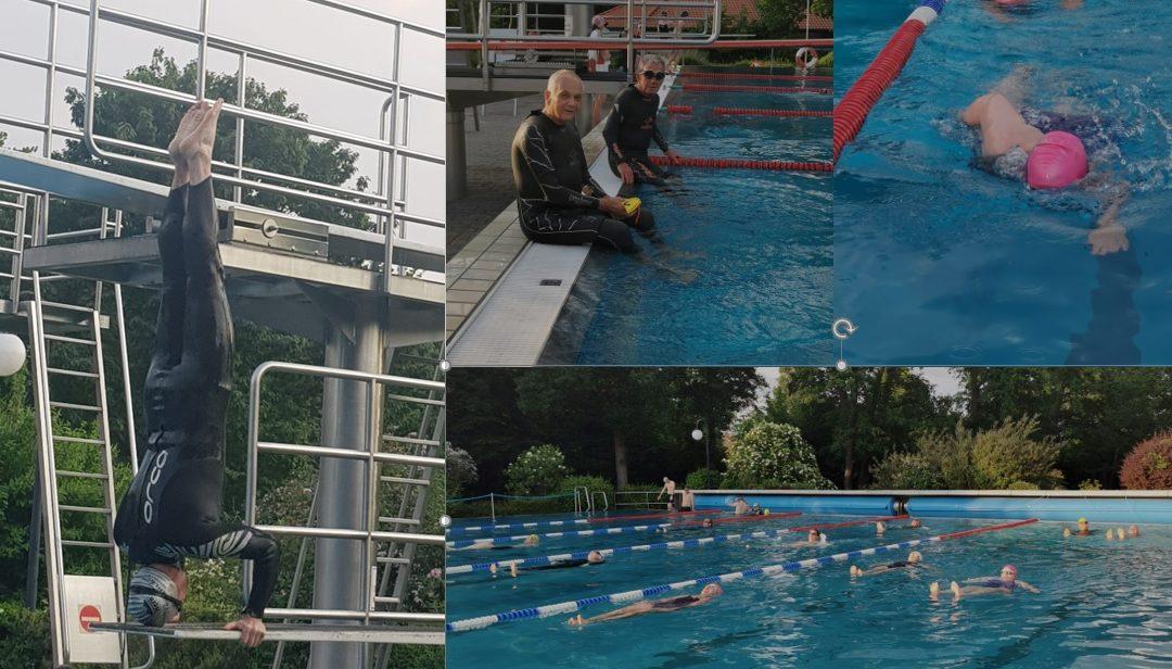 Eröffnung der Schwimmsaison im Waldschwimmbad